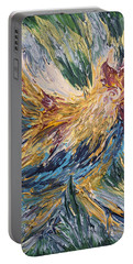 Abstract Guam Rooster Portable Battery Charger