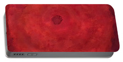 Portable Battery Charger featuring the painting Abstract Rose by Margaret Harmon