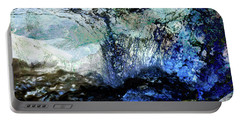 Abstract Runoff Portable Battery Charger