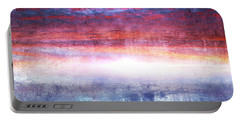 Abstract Seascape Sunset Painting 35a Portable Battery Charger