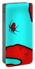 Abstract Spider Portable Battery Charger