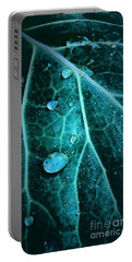 Aqua Abstract Storm In New Orleans Louisiana Portable Battery Charger
