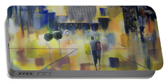 Abstract Stroll Portable Battery Charger by Raymond Doward