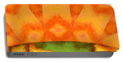 Abstract Sunrise Portable Battery Charger