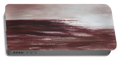 Abstract Sunset In Brown Reds Portable Battery Charger
