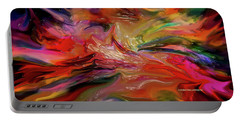 Abstract-the Wild Of The Sea Portable Battery Charger