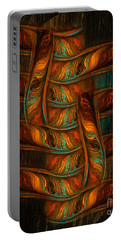 Abstract Totem Portable Battery Charger