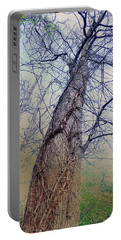 Abstract Tree Trunk Portable Battery Charger