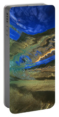 Abstract Underwater View Portable Battery Charger
