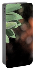 Portable Battery Charger featuring the photograph Abstract Watercolor by Judy Vincent