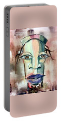 Abstract Young Man #2 Portable Battery Charger