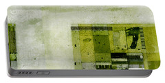 Portable Battery Charger featuring the digital art Abstractitude - C4bv2 by Variance Collections