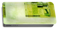 Portable Battery Charger featuring the digital art Abstractitude - C4v by Variance Collections