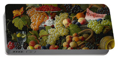 Abundant Fruit Portable Battery Charger by Severin Roesen