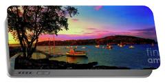 Acadia Bar Harbor Sunset Cruises.tif Portable Battery Charger
