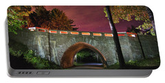 Acadia Carriage Bridge Under The Stars Portable Battery Charger