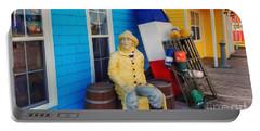 Acadian Fisherman, Prince Edward Island, Canada Portable Battery Charger