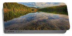 Acadian Reflection Portable Battery Charger by Rick Berk