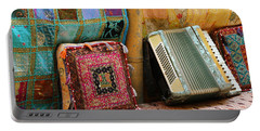 Accordion  With Colorful Pillows Portable Battery Charger