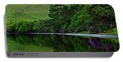 Portable Battery Charger featuring the photograph Across From Kylemore Abbey by Patricia Griffin Brett