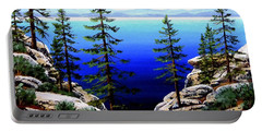 Across Lake Tahoe Portable Battery Charger