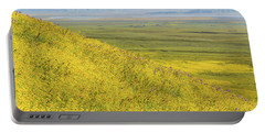 Portable Battery Charger featuring the photograph Across The Plain by Marc Crumpler