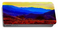Acton California Sunset Portable Battery Charger