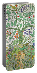 Adam And Eve Design  Portable Battery Charger