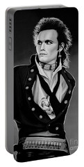 Adam Ant Painting Portable Battery Charger
