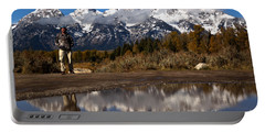 Adam Jewell At Grand Teton Portable Battery Charger