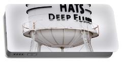 Adams Hats Deep Ellum Texas 061818 Portable Battery Charger