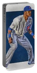 Addison Russell Chicago Cubs Art 2 Portable Battery Charger