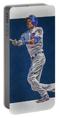 Addison Russell Chicago Cubs Art Portable Battery Charger