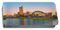 Adelaide Riverbank Panorama Portable Battery Charger