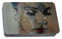 Adele - Make You Feel My Love  Portable Battery Charger by Paul Lovering