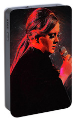 Adele Portable Battery Charger by Semih Yurdabak