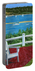 Adirondack Chair On Cape Cod Portable Battery Charger