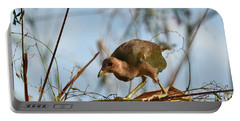 Adolescent Purple Gallinule Portable Battery Charger