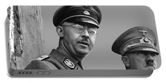 Adolf Hitler And Gestapo Head Heinrich Himmler Watching Parade Of Nazi Stormtroopers 1940-2015 Portable Battery Charger