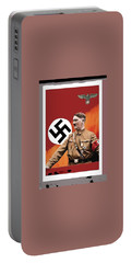 Adolf Hitler In Color With Nazi Symbols Unknown Date Additional Color Added 2016 Portable Battery Charger