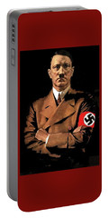 Adolf Hitler Painting Circa  1940 Color Added 2016 Portable Battery Charger