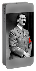 Adolf Hitler The Visionary Circa 1941 Color Added 2016 Portable Battery Charger