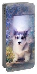 Adorable Corgi Puppy Portable Battery Charger