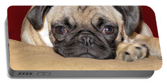 Adorable Icuddle Pug Puppy Portable Battery Charger