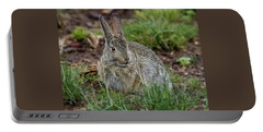 Adult Rabbit Grazing Portable Battery Charger