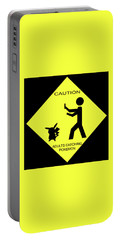 Portable Battery Charger featuring the digital art Adults Catching Pokemon 2 by Shane Bechler