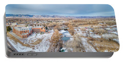 aerial cityscape of Fort Collins Portable Battery Charger