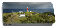 Aerial View Of Cape Moreton Lighthouse Precinct Portable Battery Charger