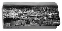 Aerial View Of London 6 Portable Battery Charger by Mark Rogan