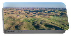 aerial view of Nebraska Sand Hills  Portable Battery Charger